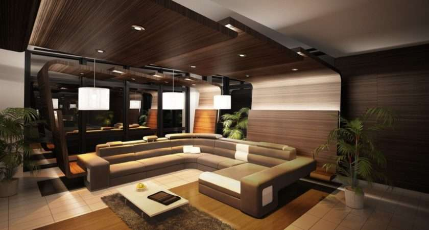 Living Room Wooden Ceilings Combination Sofa