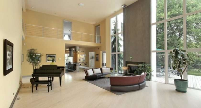 Living Rooms Light Wood Floors