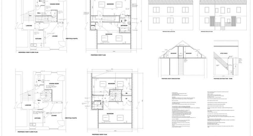 Loft Conversion Plans Dunfermline Edinburgh Livingston