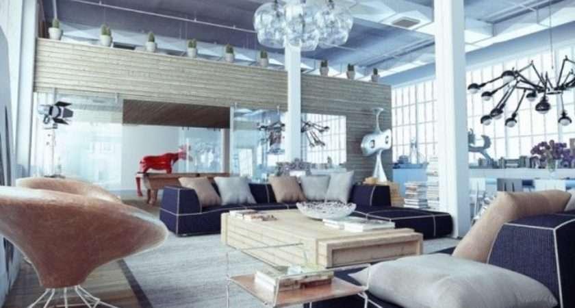 Loft Decor Ideas Furnish Modern Apartment