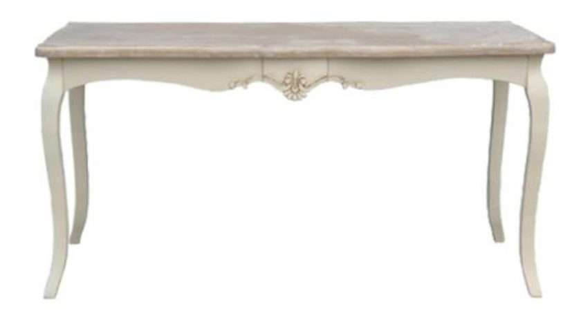Loire Antique French Style Dining Table