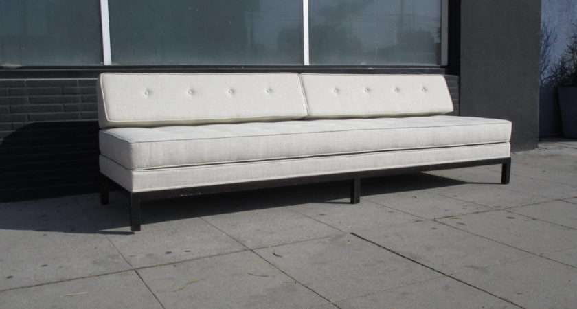 Long Day Bed Sofa Couch Removable Cushions Lay Comfortably