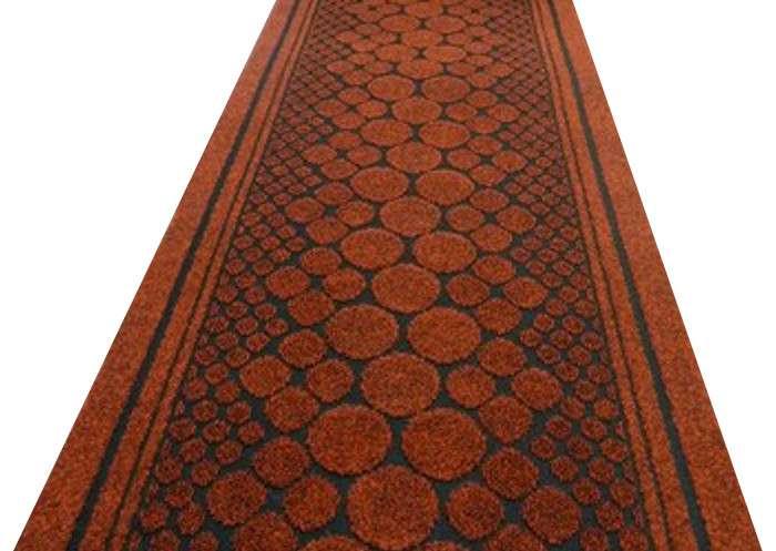 Long Hallway Polypropylene Carpet Runner Traditional Floor Rug Durable