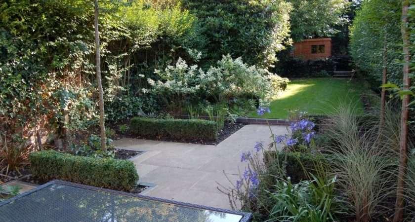 Long Narrow Garden After Redesign Matt Nichol Design Patio