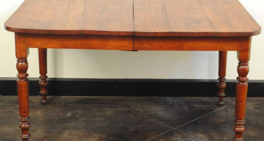 Louis Philippe Cherrywood Extension Kitchen Dining Table Stdibs