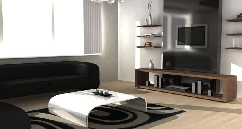 Lovely Contemporary Living Room Design Interior