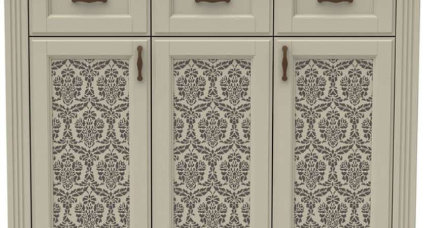 Lovely Lace Furniture Stencil Traditional Wall Stencils
