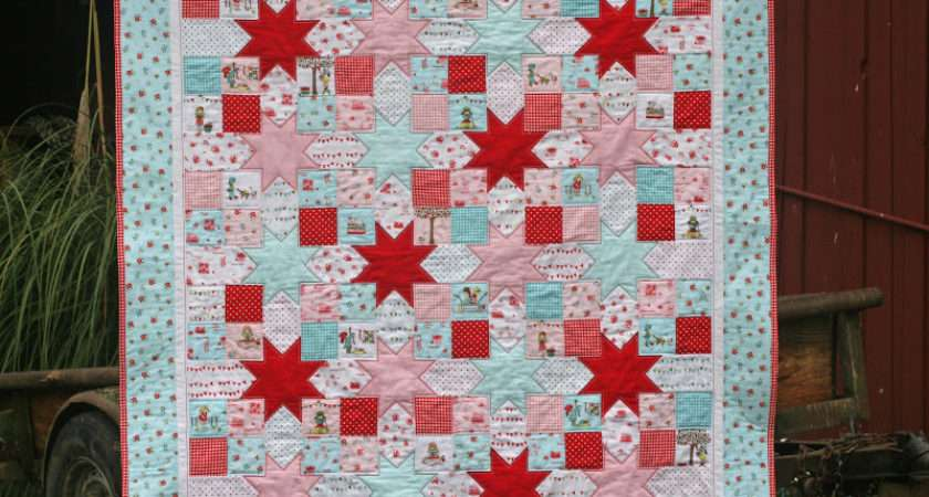 Lovely Little Handmades Tutorial Simple Patchwork Stars