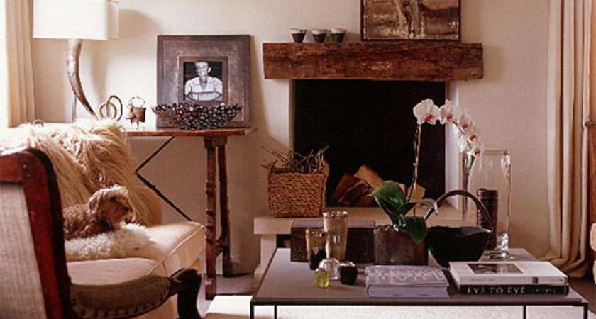 Lovely Stylish Living Room Fireplaces Decoration