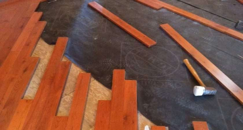 Lovely Tile Over Wood Floor Kezcreative