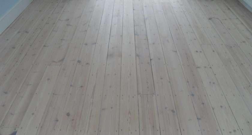 Lovely White Wood Flooring Home Design