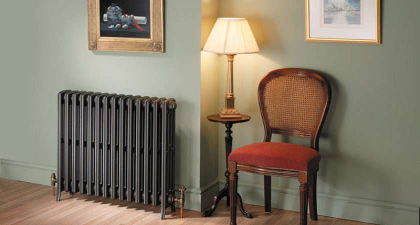 Ltd Traditional Radiators Antique Cast Iron Wall Mounted