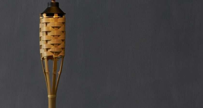 Luau Bamboo Torch