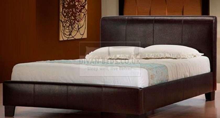 Lucia Modern Italian Designer Leather Bed Guaranteed
