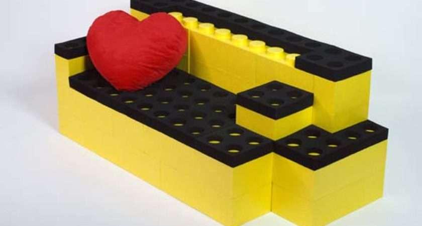 Lunablocks Unique Furniture Made Giant Lego Bricks