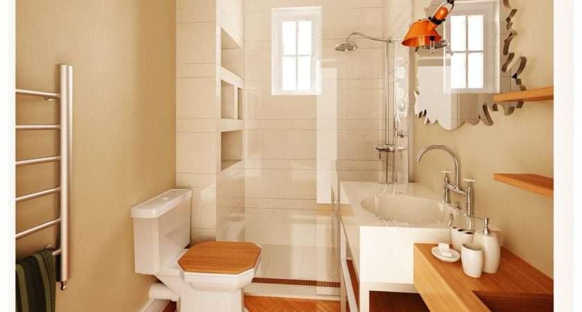 Luxurious Small Wooden Bathroom Decozilla