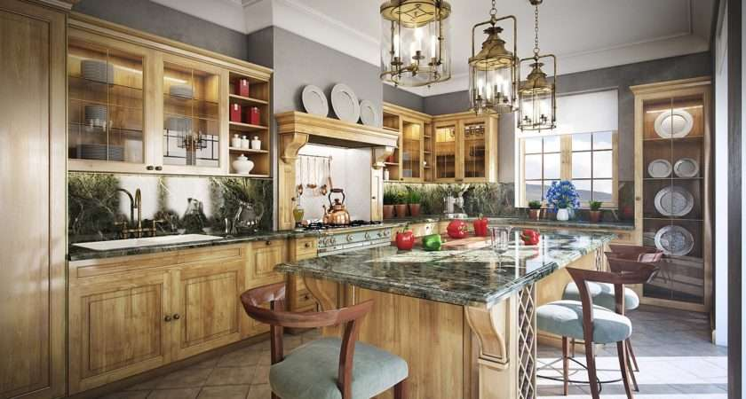 Luxurious Traditional Kitchen Ideas