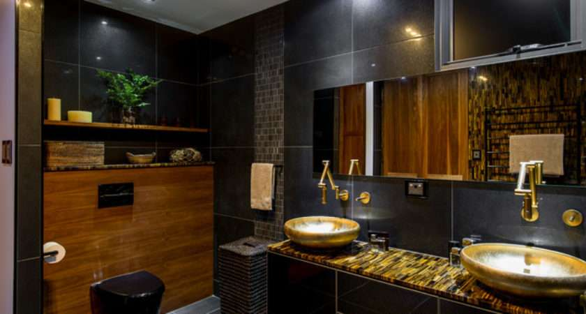Luxury Ensuite Contemporary Bathroom Brisbane