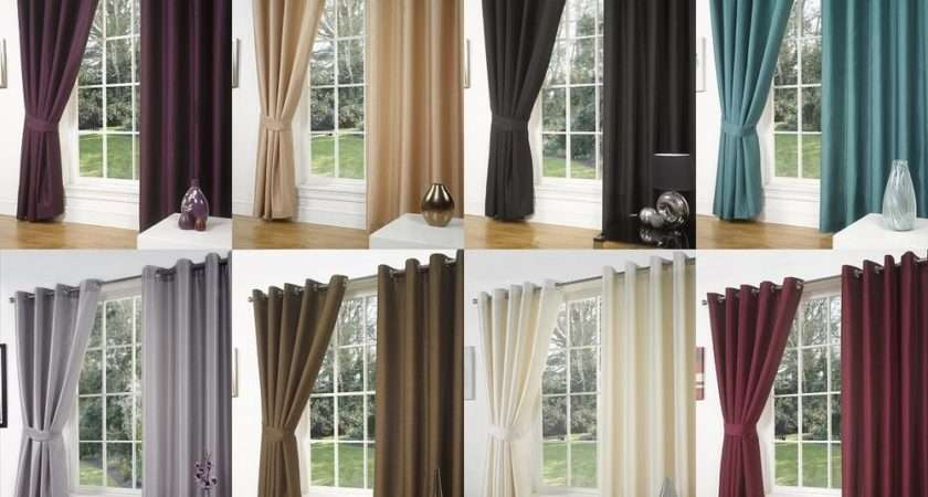 Luxury Faux Silk Curtains Ready Made Eyelet Ring Top Fully Lined Inc