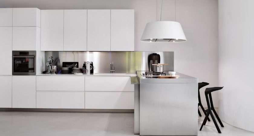 Luxury Kitchens Stainless Steel Splashbacks