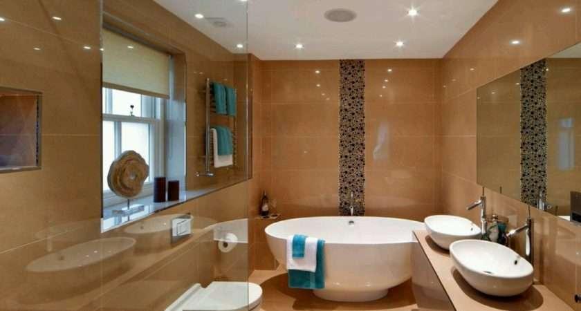 Luxury Modern Bathrooms Designs Decoration Ideas New Home