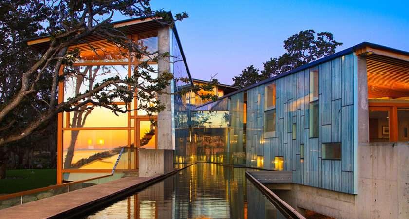 Luxury Oceanfront Estate Takes Stage Metchosin Swanwick