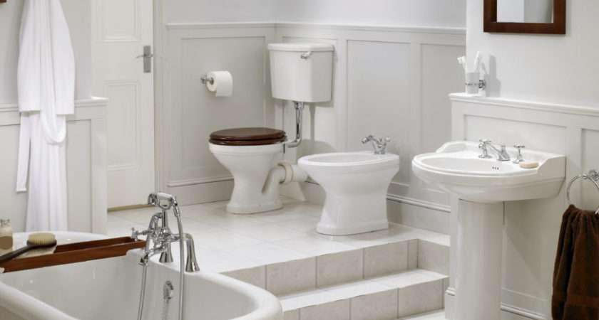 Luxury White Master Bathroom Ideas
