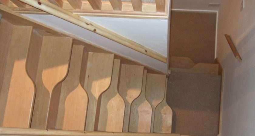 Lyndale Stairs Hemlock Quarter Landing Space Saver Staircase