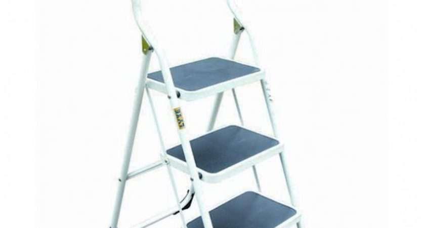 Lyte Tread Step Stool Extended Handrail