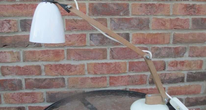 Maclamp Desk Lamp Terence Conran White Century