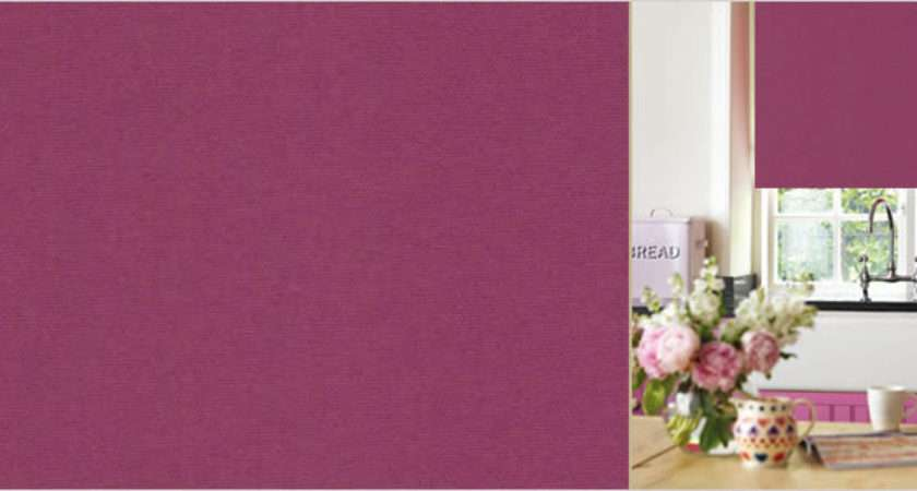 Made Measure Roller Blinds Pink Lilac