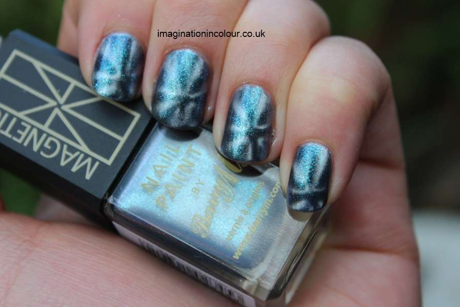 Magnet Star Pattern Gunmetal Planet Nails Nail Polish Paint