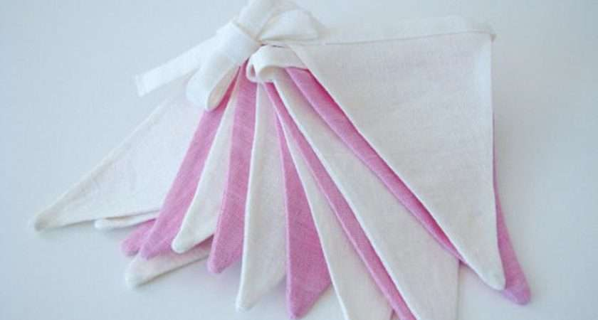 Make Bunting Fabric Flag Banner