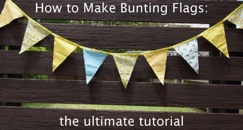 Make Bunting Flags Ultimate Tutorial Sew Love
