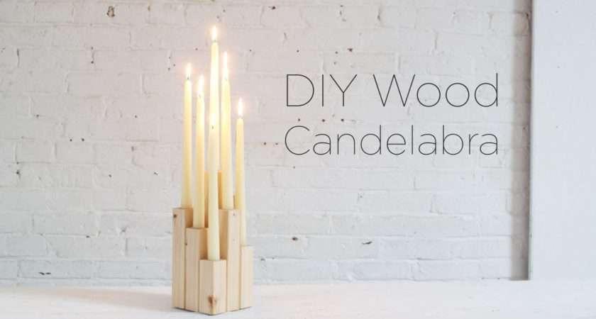 Make Candelabra Wood