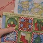 Make Christmas Card Wreath Fruitful Words
