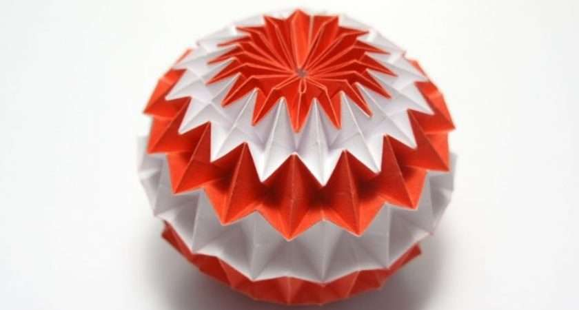 Make Craft Paper Origami Magic Ball Step Diy Tutorial