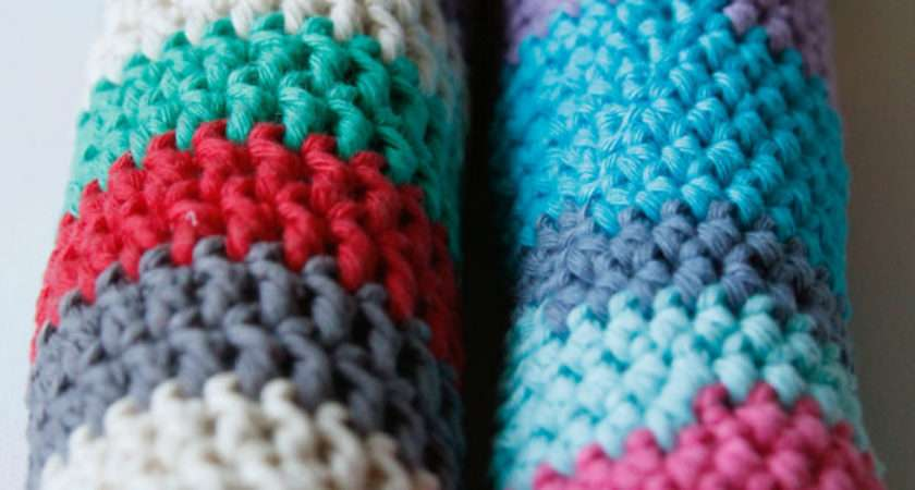 Make Crochet Draft Excluders