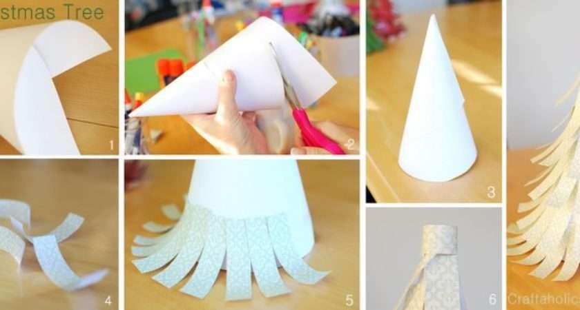 Make Easy Paper Christmas Tree