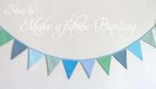 Make Fabric Bunting Glorious Treats