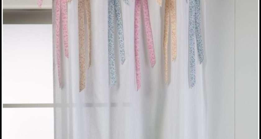 Make Flower Curtain Tie Backs Curtains Home