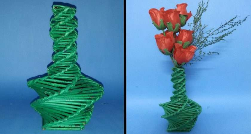 Make Flower Vase Youtube