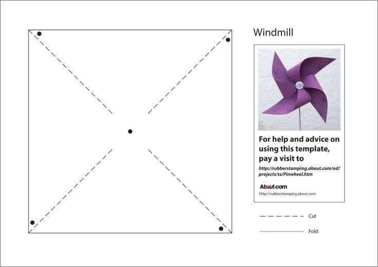 make fun paper pinwheel pdf template windmills lentine marine