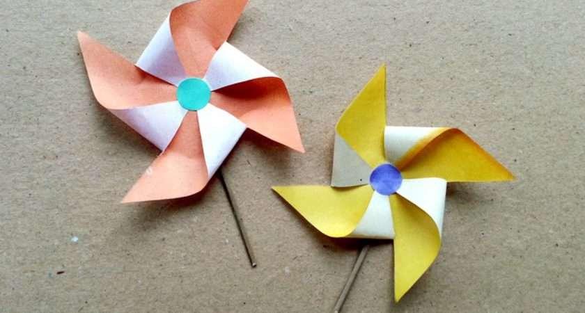 Make Fun Paper Windmill Diy Guidecentral Youtube