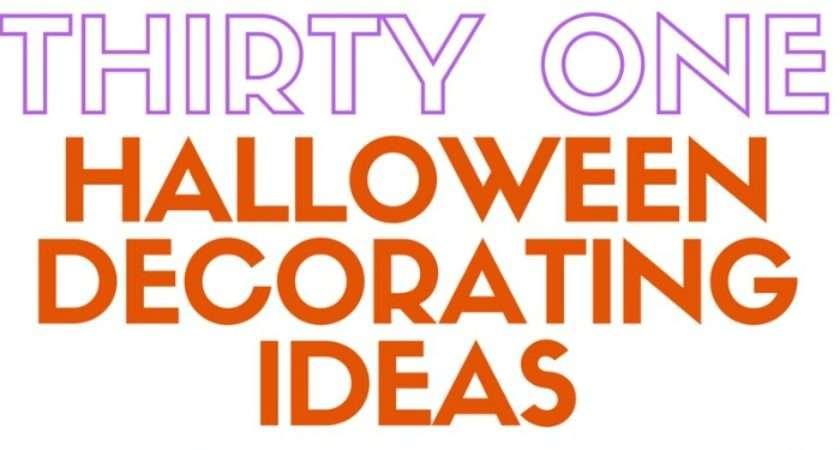 Make Halloween Decoration Ideas Crafty