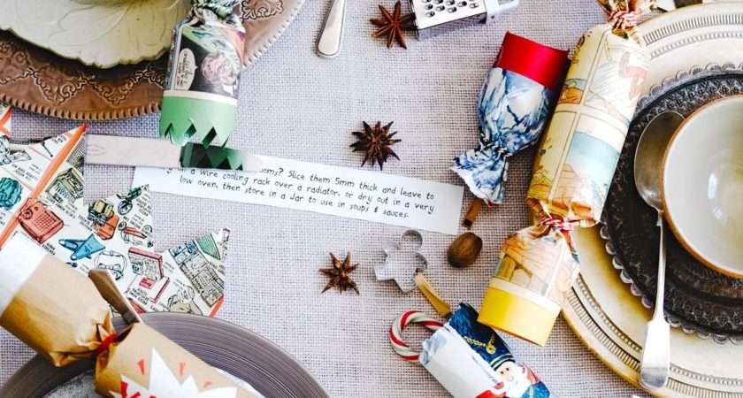 Make Homemade Christmas Crackers Jamie Oliver