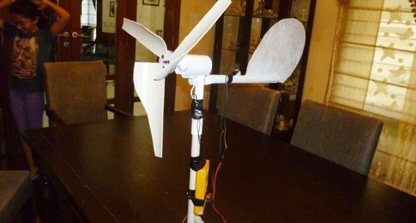 Make Mini Wind Turbine Urdu Youtube