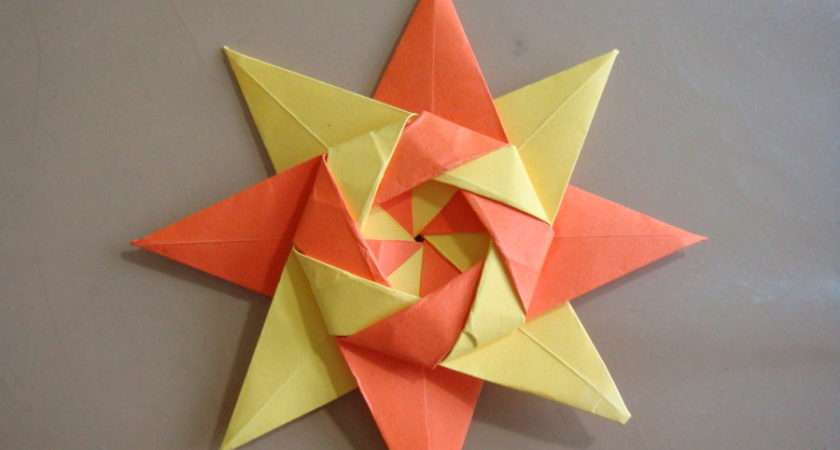 Make Origami Stars Easy Beautiful Star Looks Very