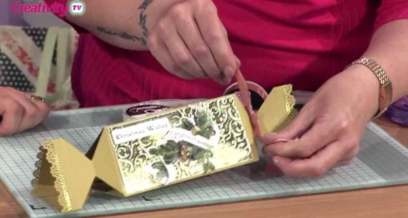 Make Paper Christmas Cracker Docrafts