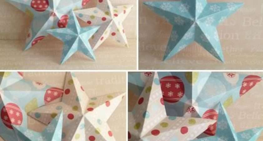 Make Paper Christmas Ornaments Invitation Template